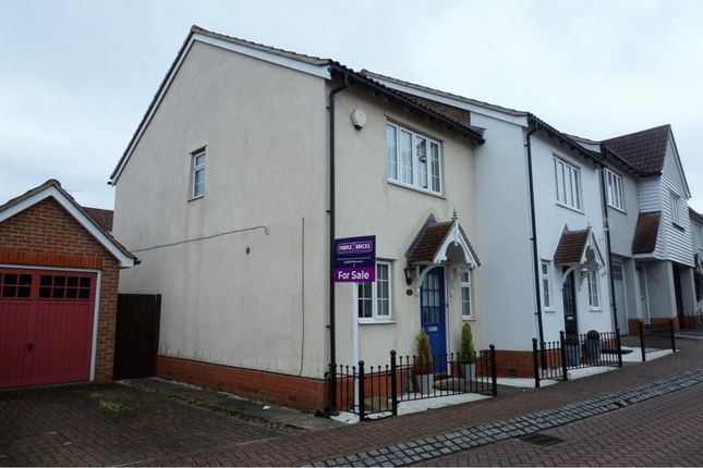 Thumbnail End terrace house for sale in Malkin Drive, Harlow