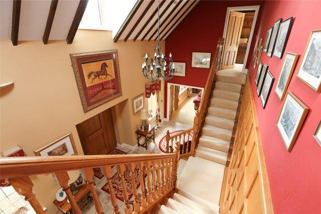 Staircase of Midford Lane, Limpley Stoke, Bath BA2
