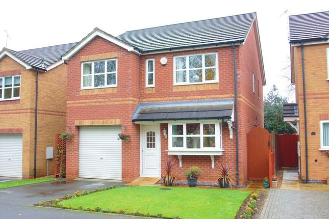 Thumbnail Detached house for sale in Beckett Close, Riverside, Redditch, Worcestershire