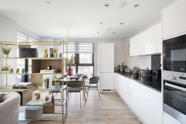 """3 bed flat for sale in """"Plot 92"""" at Lakeside Drive, Park Royal, London NW10"""