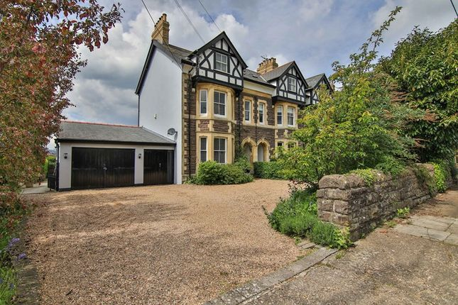 Thumbnail End terrace house for sale in Windsor Road, Abergavenny