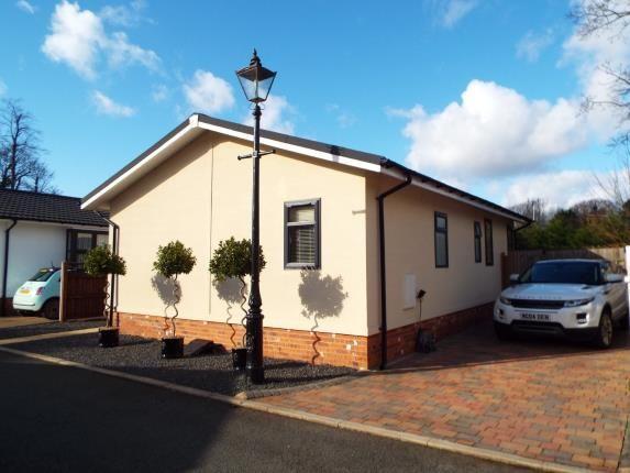 Front of High Croft Park, Newton Hall Lane, Mobberley, Cheshire WA16