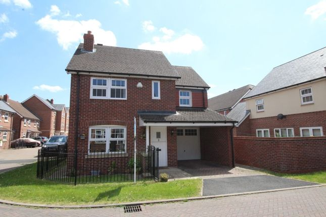 Thumbnail Detached house to rent in Whittaker Close, Congleton