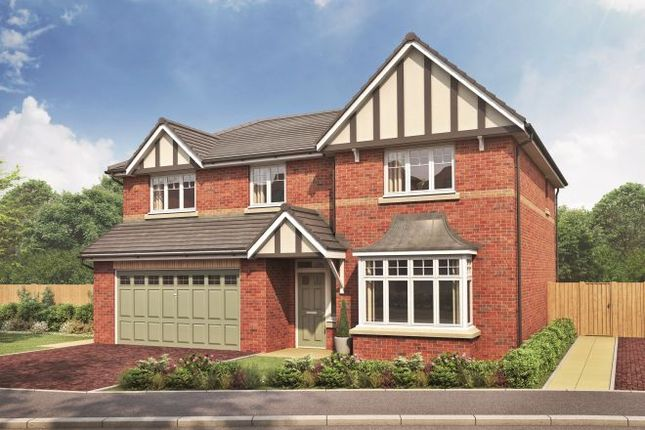 Thumbnail Detached house for sale in The Latchford II, Cricketers Green, Chelford, Cheshire
