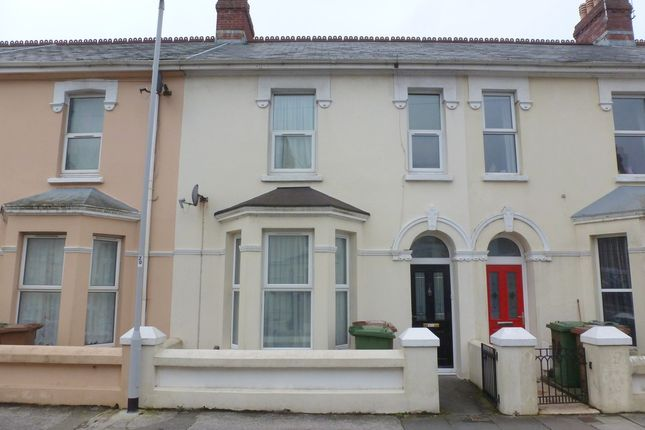 Thumbnail Terraced house for sale in Cattedown Road, Plymouth