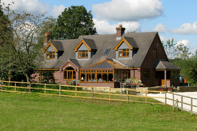 Thumbnail Detached house for sale in Top Road, Hardwick Wood, Wingerworth, Chesterfield