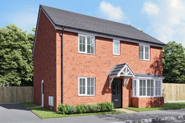 "Thumbnail Detached house for sale in ""The Pembroke"" at Thorney Green Road, Stowupland, Stowmarket"
