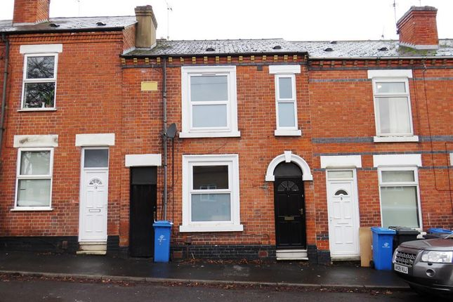 Thumbnail Terraced house to rent in Upper Boundary Road, Derby