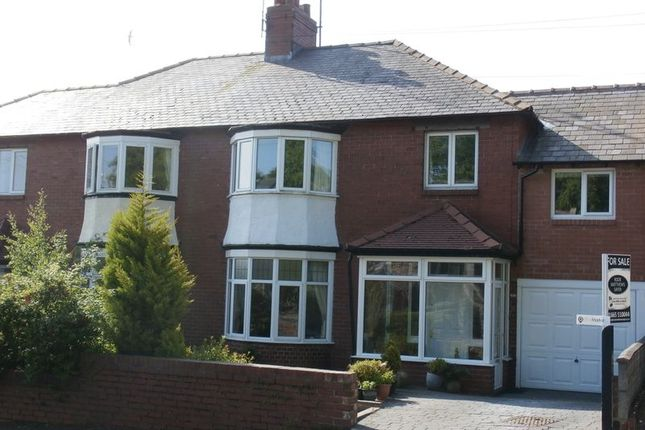 Thumbnail Semi-detached house for sale in Swansfield Park Road, Alnwick