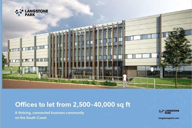 Thumbnail Office to let in Building 6000 Langstone Park, Havant, Hampshire