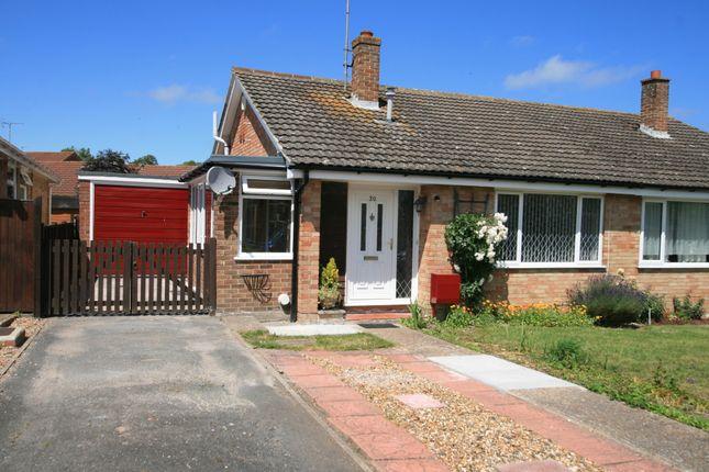Thumbnail Semi-detached bungalow to rent in Silverlands Road, Lyminge, Kent