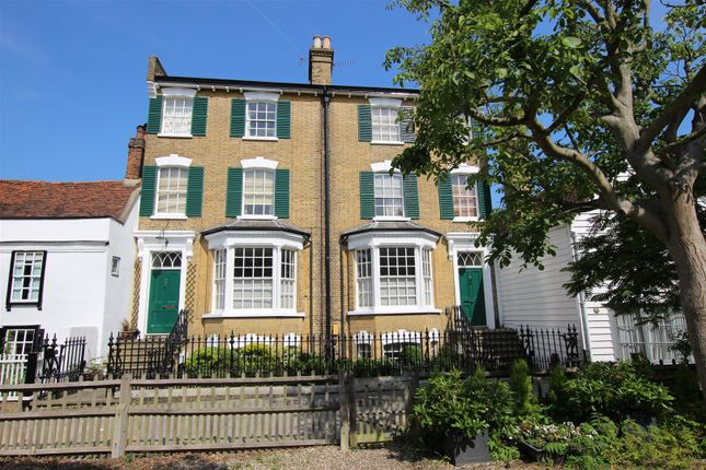 Thumbnail Flat for sale in Garden Flat, Fortescue Villas, Gentlemans Row, Enfield