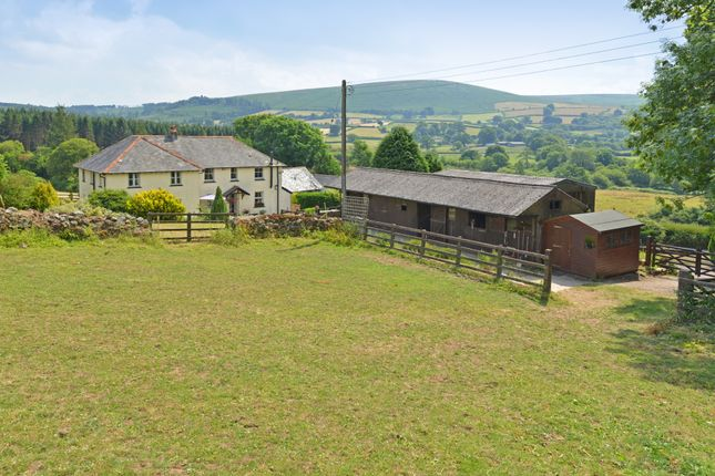 Thumbnail Detached house for sale in North Bovey, Dartmoor National Park