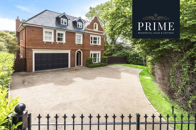Thumbnail Detached house for sale in Cobbetts Hill, Weybridge