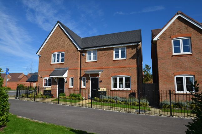 Thumbnail Semi-detached house for sale in Longacres Way, Chichester, West Sussex