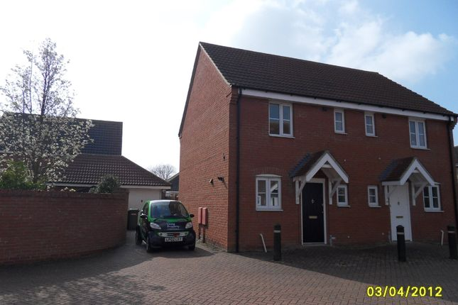 Thumbnail Semi-detached house to rent in Jenner Close, Bungay