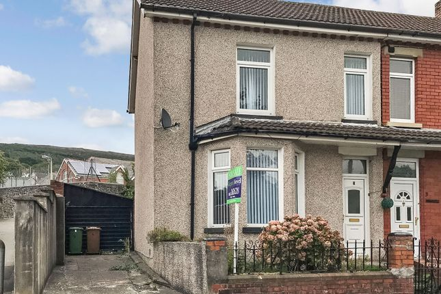 Thumbnail Semi-detached house for sale in The Crescent, Machen, Caerphilly