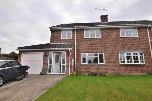 Thumbnail Semi-detached house for sale in Bentfield Gardens, Stansted
