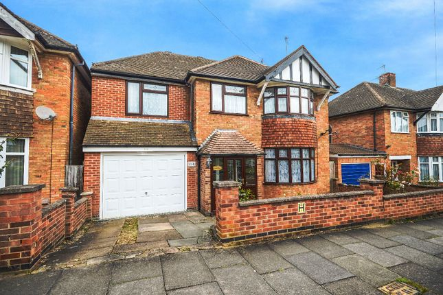 Thumbnail Detached house for sale in Wintersdale Road, Evington, Leicester
