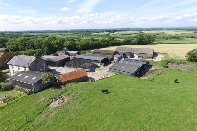 Thumbnail Farm for sale in Northlew, Okehampton, Devon