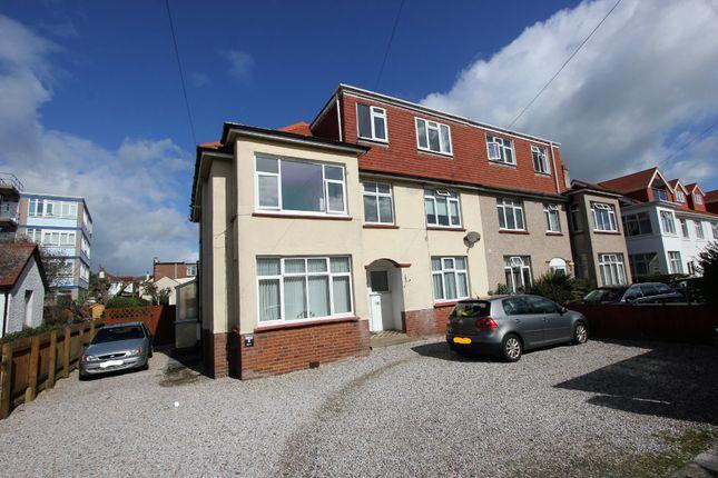 Thumbnail Flat to rent in Eugene Road, Preston, Paignton