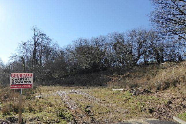 Thumbnail Land for sale in Plots 4 & 5, Llangeinor, Bridgend.