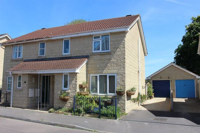 Thumbnail Semi-detached house for sale in Meadowsweet Drive, Calne