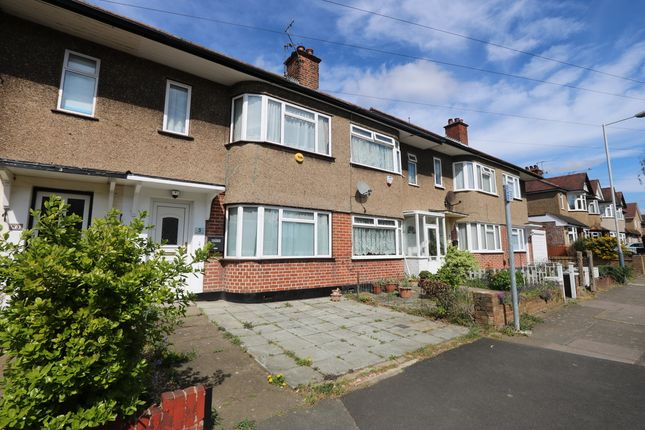 Thumbnail Terraced house to rent in Sidmouth Drive, Ruislip