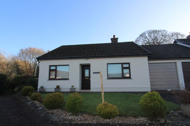 Thumbnail Semi-detached bungalow for sale in Maes Y Tren, Felinfach, Lampeter