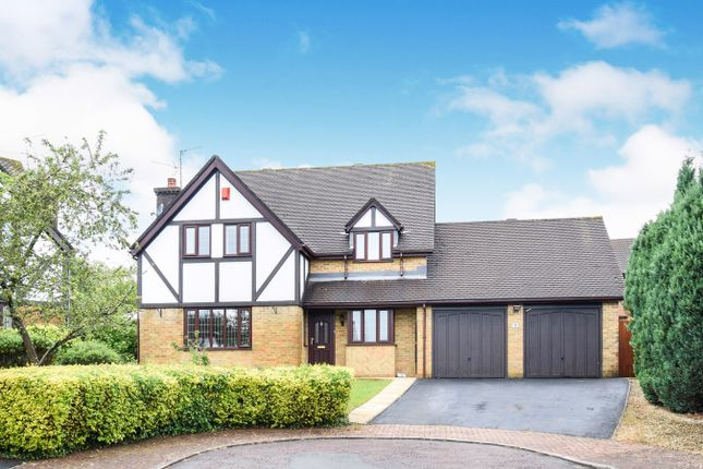 Thumbnail Detached house for sale in Oakleigh Court, Henllys, Cwmbran