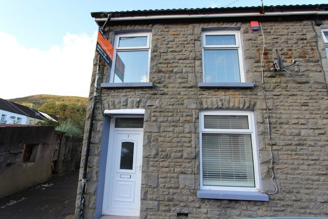 Thumbnail End terrace house for sale in Ynysgau Street Ystrad -, Pentre