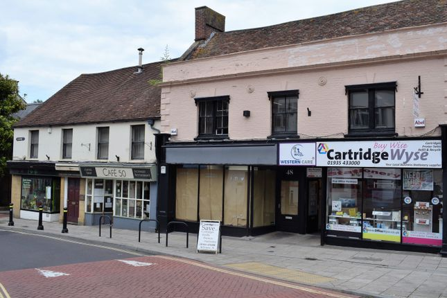 Thumbnail Retail premises to let in 48 Princes Street, Yeovil