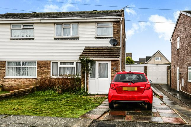 Thumbnail Semi-detached house to rent in Clos-Y-Deri, Porthcawl