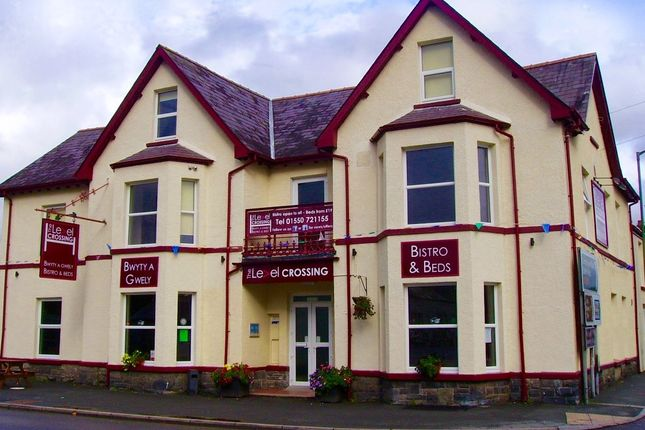 Hotel/guest house for sale in Queensway, Llandovery, Carmarthenshire