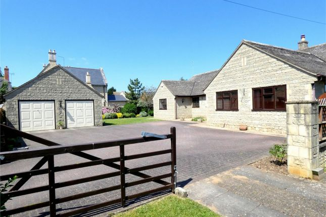 Thumbnail Detached bungalow for sale in Thorpe Road, Longthorpe, Peterborough