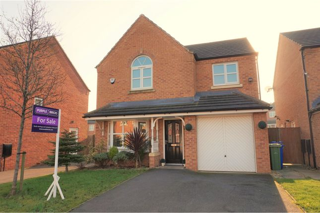 Thumbnail Detached house for sale in Lord Lane, Audenshaw