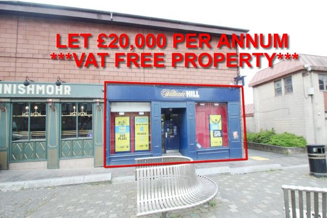 Thumbnail Commercial property for sale in 146, Main Street, Unit 1, Coatbridge ML53Bj