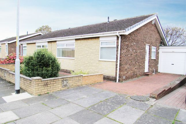 Thumbnail Bungalow for sale in Carlcroft Place, Cramlington
