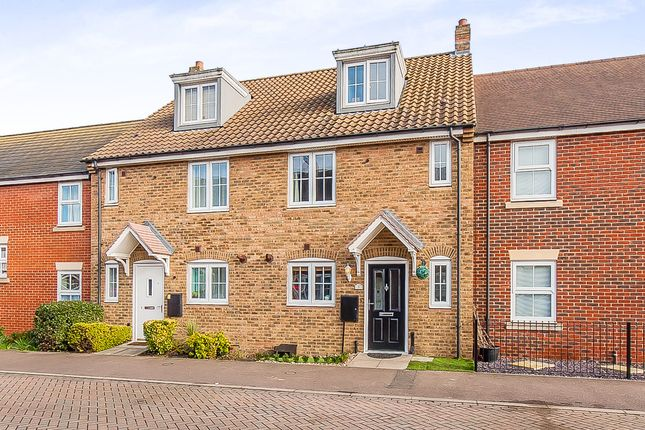 Terraced house for sale in Bellflower Drive, Yaxley, Peterborough