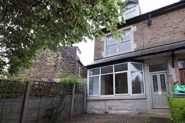 Thumbnail End terrace house to rent in Elm Tree Avenue, Harrogate, North Yorkshire