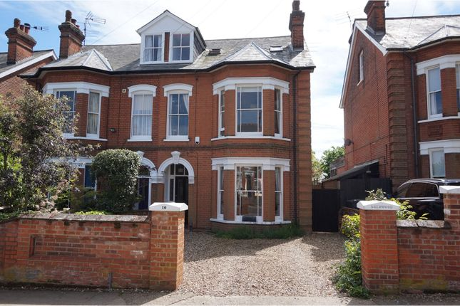 Thumbnail Semi-detached house to rent in Gainsborough Road, Ipswich
