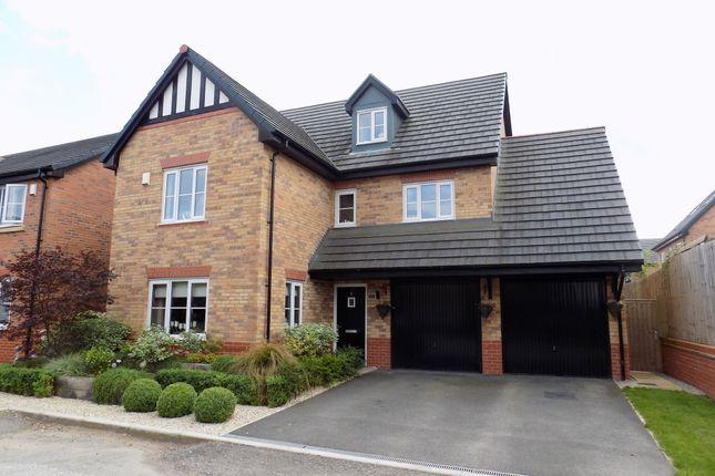 Thumbnail Detached house for sale in Kensington Crescent, Cuddington, Northwich