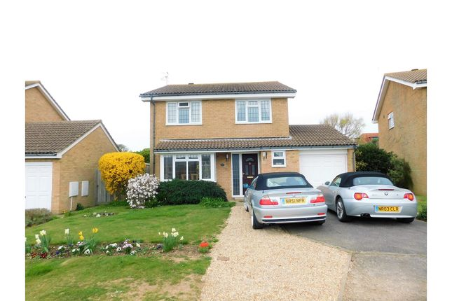 Thumbnail Detached house for sale in Darwall Drive, Seaford