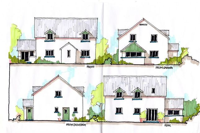 Thumbnail Detached house for sale in Llangua, Abergavenny