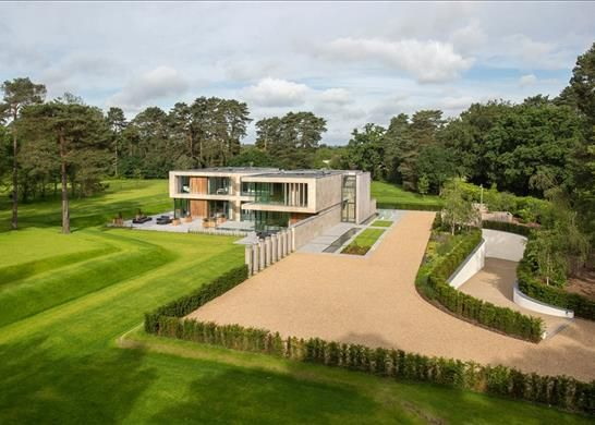 Thumbnail Detached house for sale in Beechwood Road, Virginia Water, Surrey