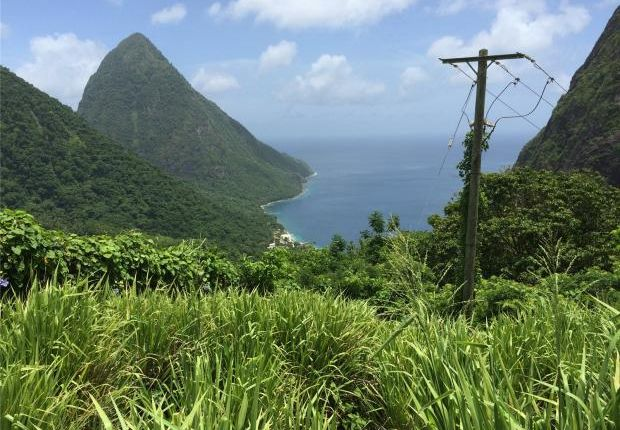Thumbnail Land for sale in Soufriere Land, St Lucia, Caribbean
