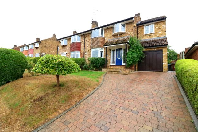 Thumbnail Semi-detached house for sale in Kindersley Way, Abbots Langley