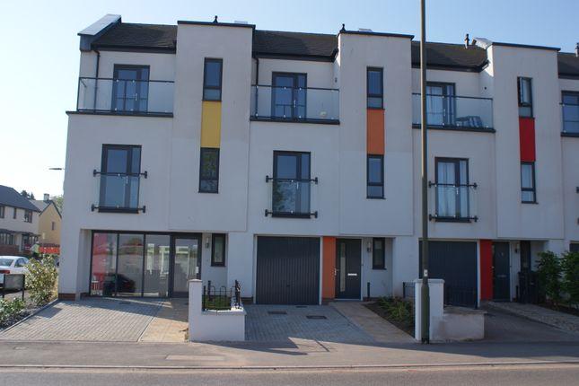 Thumbnail Town house to rent in White Rock Way, Paignton