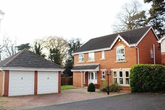 Thumbnail Detached house for sale in The Firs, Leicester