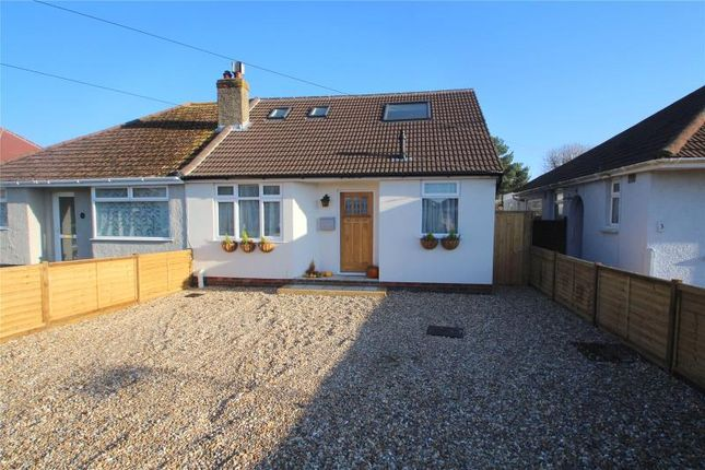 Thumbnail Semi-detached house for sale in Links Road, Lancing, West Sussex